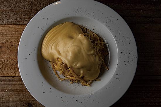 カルボナーラ チーズソース