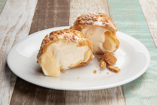 クッキーチーズシュークリーム