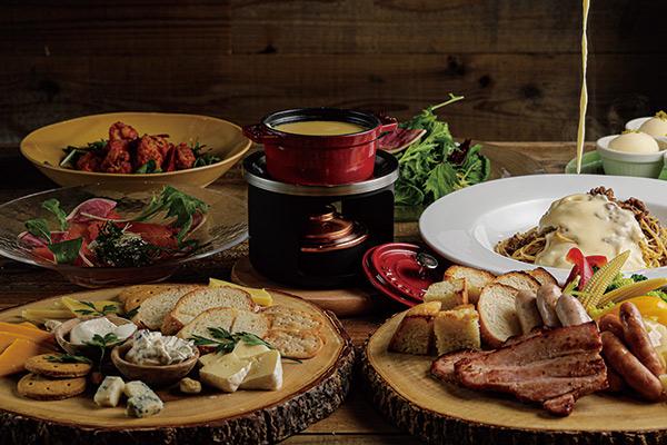 ラニーチーズ パーティープラン チーズフォンデュプラン